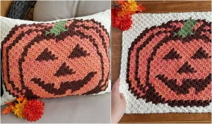 How to Crochet a Pumpkin Pillow - Simple Idea With Free Pattern