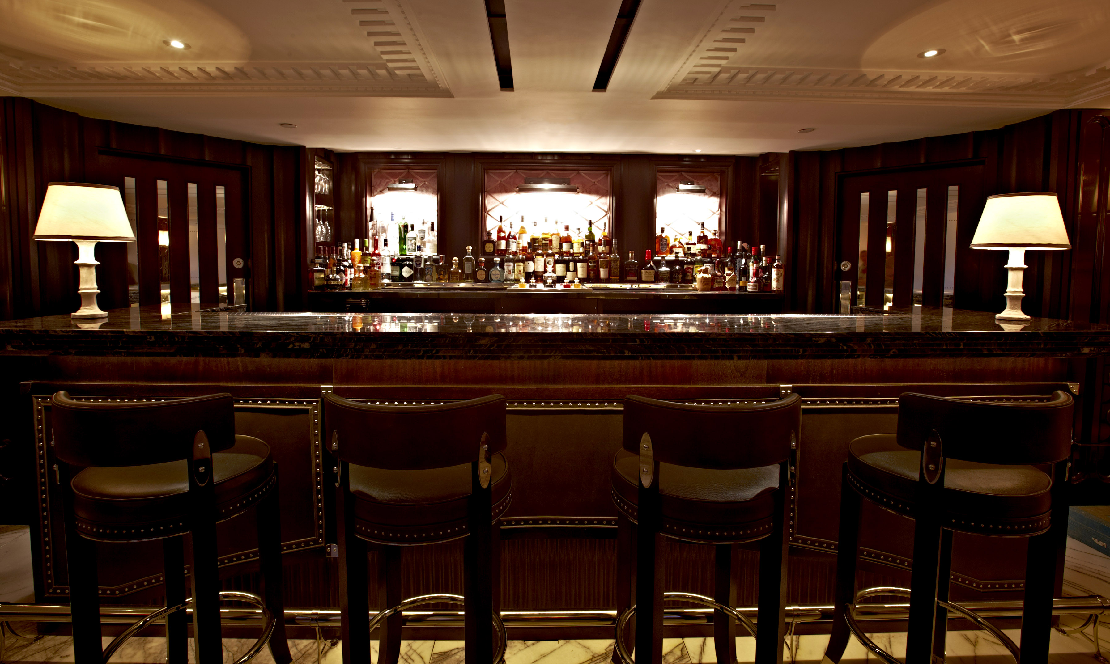 The Luggage Room at the Marriot