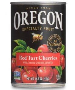 (3 Pack) Oregon Specialty Fruit Red Tart Cherries in Water, 14.5 oz