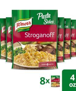 (8 Pack) Knorr Pasta Side Dish Stroganoff 4 oz