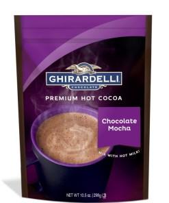 Ghirardelli Chocolate Premium Hot Cocoa Chocolate Mocha, 10.5 OZ