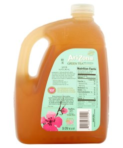 (2 Bottles) Arizona Green W/Ginseng & Honey Tea, 1 Gallon