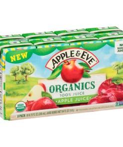 Apple & Eve Organics Apple Juice, 6.75 fl oz – 8 Pack