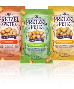 Pretzel Pete Seasoned Pretzel Nuggets, 3 Ct Variety Pack (9.5 Oz. Bags)