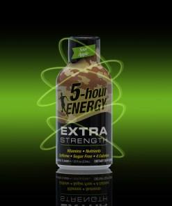 (12 Count) 5-hour ENERGY® Shot, Extra Strength, Sour Apple, 1.93 oz