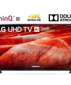 LG 86UM8070PUA 86″ 4K HDR Smart LED IPS TV w/ AI ThinQ 2019 Model – (Renewed)