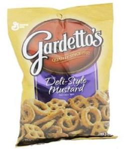 Product Of Gardettos, Deli Style Mustard Pretzel, Count 7 (5.5 oz) – Snacks / Grab Varieties & Flavors