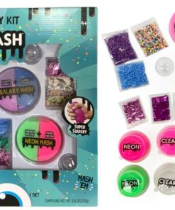 Compound Kings Mix & Mash Super Ultimate Deluxe Party Slime Kit 8.8 oz and 8 Glitter mix-ins and more!
