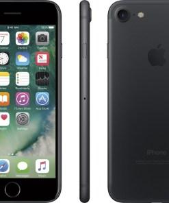 Apple iPhone 7, GSM Unlocked 4G LTE- Black, 32GB (Certified Refurbished)
