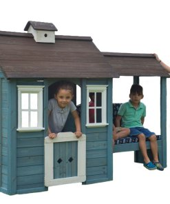 Sportspower Stone Creek Wooden Playhouse with Daybed