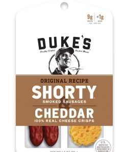 Duke's Shorty & Cheddar Cheese, Original, 12 CT