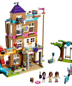LEGO Friends Friendship House 41340 4-Story Building Set (722 Pieces)