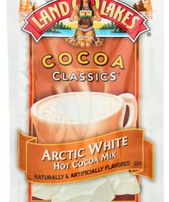 (12 Pack) Land O Lakes Cocoa Classics Arctic White Hot Cocoa Mix, 1.25 Oz.