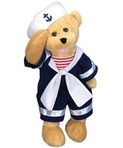 Animated Singing And Dancing Bobby Sailor Teddy Bear Stuffed Animal Plush