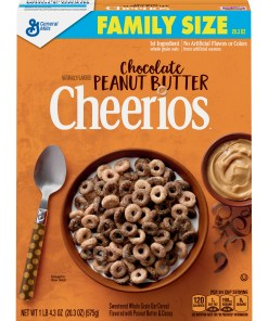Chocolate Peanut Butter Cheerios, Cereal, 20.3 oz