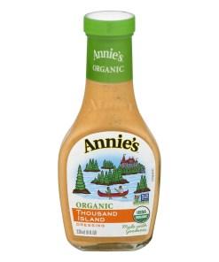 (2 Pack) Annie's Organic Thousand Island Dressing, 8 fl oz Bottle