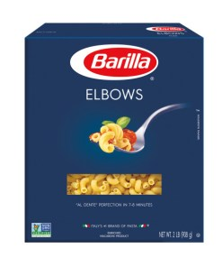 (2 pack) Barilla Pasta Elbows, 32 oz