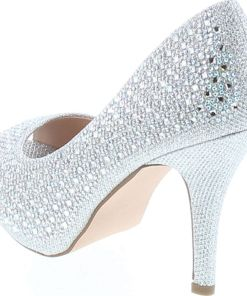 De Blossom Collection Womens Robin-183 Dress Pump Heels Shoes