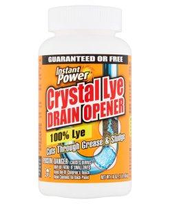 Instant Power Crystal Lye Drain Opener, 16 oz