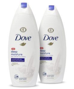 Dove Body Wash Deep Moisture 22 oz 2 Count