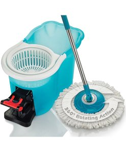 As Seen on TV Hurricane Cleaning Spin Mop and Bucket