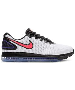 Nike Womens Zoom All Out Low 2 Fabric Low Top Lace Up Running Sneaker