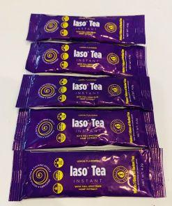 TLC Total Life Changes IASO Natural Detox Instant Herbal Tea 5 Lemon Sachets