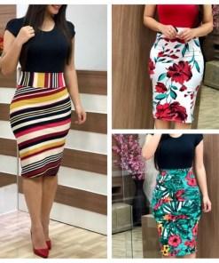 Women Summer Dress 2020 Plus Sizes 3XL Sexy Vintage Elegant Floral Pencil Dresses Evening Party Dress Bodycon Vestidos