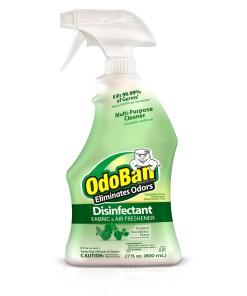 OdoBan Original Eucalyptus Scent Disinfectant Fabric & Air Freshener, 27 fl oz