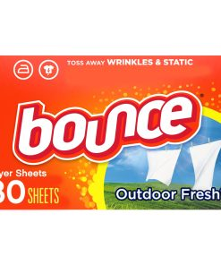 Bounce Dryer Sheets, Outdoor Fresh, 80 Count