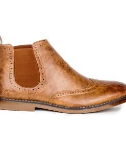Gino Vitale Men's Impressionist Chelsea Boots