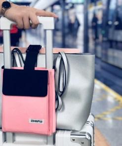 Luggage fixed portable briefcase strap