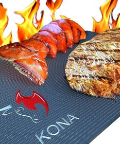 Heavy Duty 600 Degree Non-Stick Grill Mats (Set of 2)