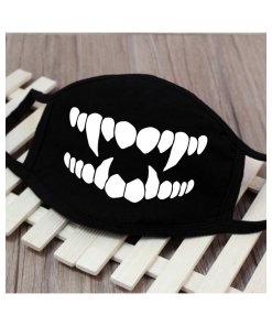 Men Women Riding Cotton Mask Breathable Dust-proof Facial Mouth Protection Fashion Black Mask KZ-3036