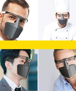 Safety Face Shiel Fashionable Face Mask Anti-saliva Anti-sand Anti-fog Can Be Used With Glasses