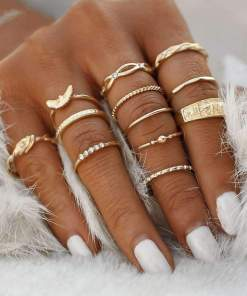 Enchanting Solstice Ring Set