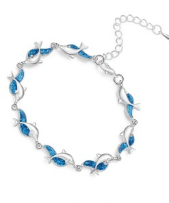 Personality charm dolphin bracelet