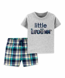 Child of Mine by Carter's Baby Boy Brother, 2 Piece