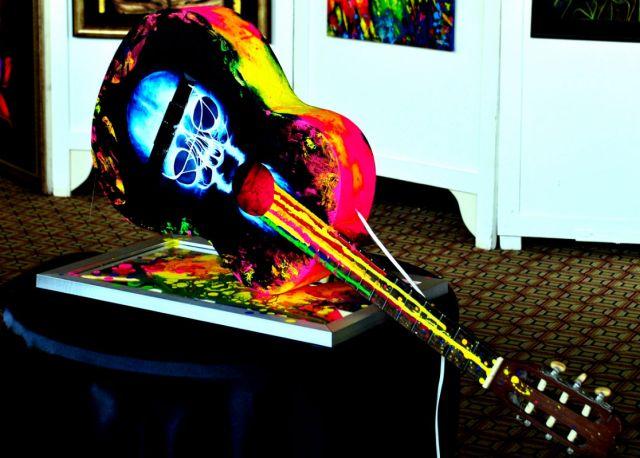 Patty Dimo - Feeling Alive Exhibition Installation