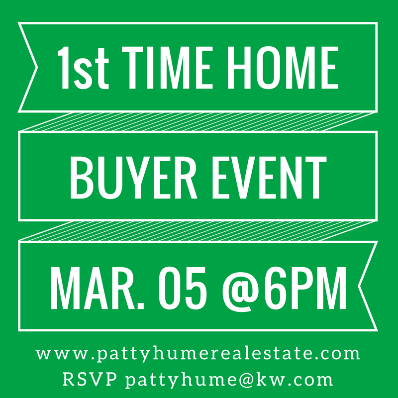 1st time home buyer event!