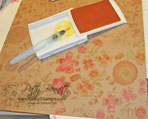 Natural composition watercolor paper