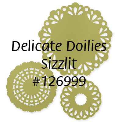 126999 delicate doilies