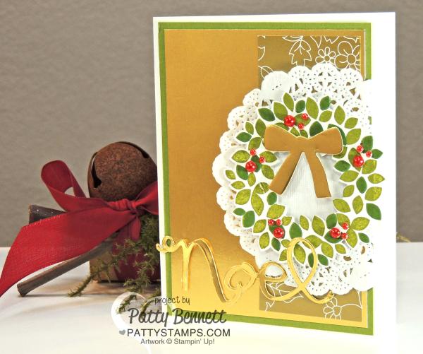 Wondrous-wreath-gold-foil-sheet-christmas-card-stampin-up