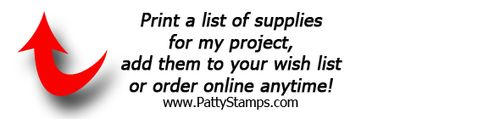 Print supply list-pattystamps