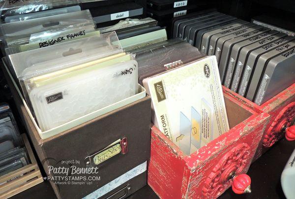 Loft-redo-embossing-folder-big-shot-die-storage-stampin-up-craft-room-pattystamps