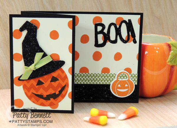 Sparkly-seasons-stampin-up-pumpkin-witch-hat-card-black-glimmer-paper-halloween-pattystamps