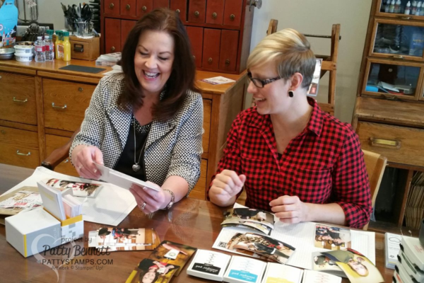 See how easy it is to document your memories with Project Life by Stampin'  Up!, video tutorial by Patty Bennett and Sara Douglass