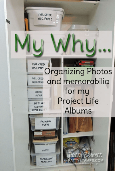 Why I am committed to preserving our family photos with Project Life by Stampin' UP! - watch the video!