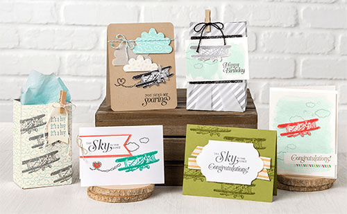 Sky is the limit Sale a Bration stamp set from Stampin' Up!