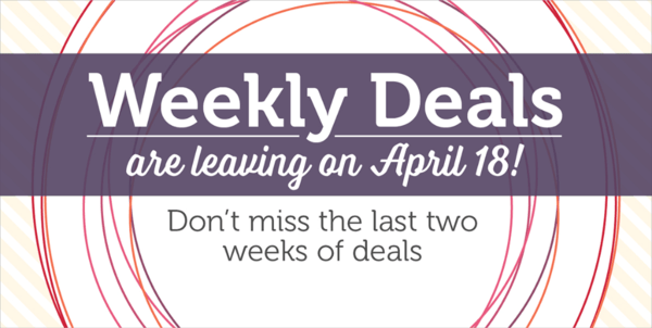 Shop the Weekly Deals from Stampin' UP! at www.PattyStamps.com
